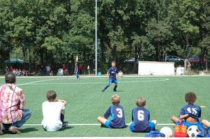 Fußballtraining, Wien