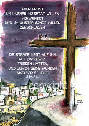 ostern Kreuz