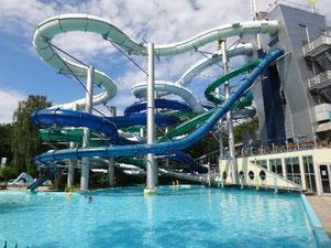 piscine tikibad parc d atraction en hollande la haye