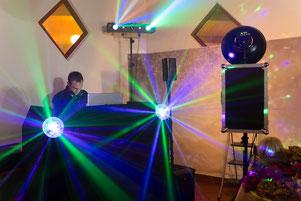 DJ MKay DJ Landau DJ Karlsuhe Lichtshow
