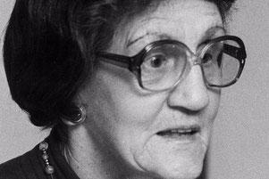 Irma Tschudin-Steiner, die erste Professorin in Pharmazie (Bild: Der Bund)