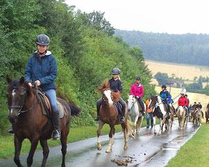 Reiterferien im Herbst in Hessen