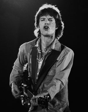 Mick Jagger in concert
