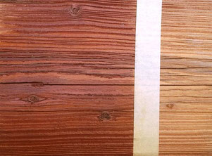 die Holzimpägnierung gegen Holzwurm ist unsichtbar und hält ewig