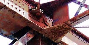 Wie wichtig guter Korrosionsschutz ist hat der Einsturz der Reichsbrücke gezeigt. Ein Übersteichen der rostigen  Stellen reicht nicht aus - der Rost frisst sich UNTER der Rostschutzfarbe weiter und zerstört die Konstruktion