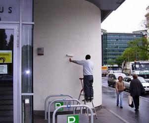 Subito ist der beste Schutz für Wärmeschutzfassaden gegen Graffiti