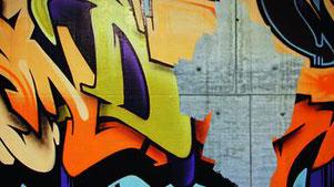 Stein und Betonfassaden sollten unbedingt gegen Graffiti geschützt werden