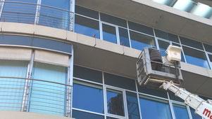 Glasreinigung, Glasversiegelung, Dachschutz, Dachreinigung, Dachinspektion, Dachreparatur,  selbstreinigende Fassaden,