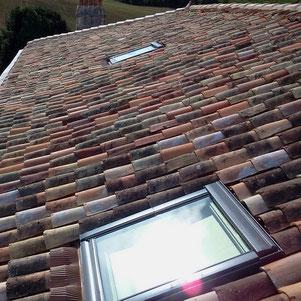 Velux sur toiture posé par l'entreprise Tempérault Bruno situé à Rouillac en Charente