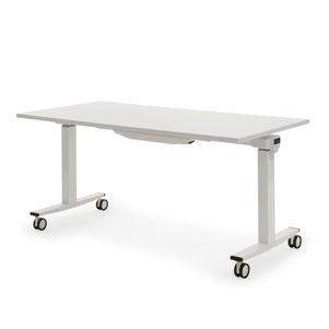 Höhenverstellbarer Schreibtisch mit Rollen