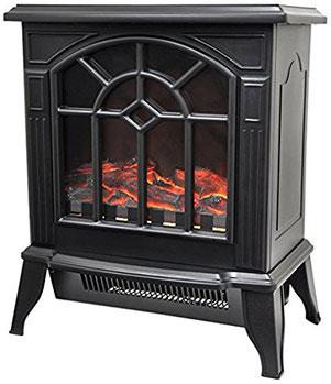 Image: Amazon.co.jp VERSOS 揺らめく疑似炎 見ているだけで温かい 暖炉型ファンヒーター