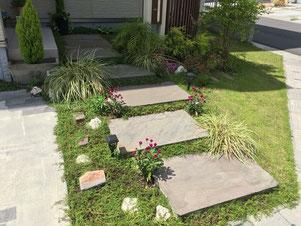 外構 広島 ステイホーム マイホーム エクステリア 庭 お庭づくり ポスト 表札 ガーデニング ガーデン 花
