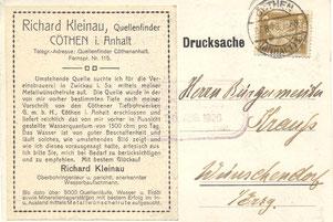 Bild: Wünschendorf Krauß Wasser 1926