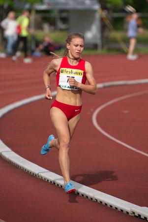 Vereinsmeisterschaften Vereinsrekord Vizestaatsmeister DSG Wien Staatsmeisterschaften 3000 Meter Julia Mayer Läuferin Südstadt