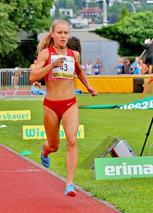 Staatsmeisterschaften laufen Julia Mayer Dsg wien Leichtathletik Tirol Österreich 5000m Langstrecke
