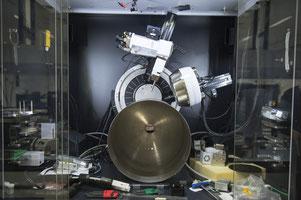 Röntgenuntersuchung des von TWI und Airbus für die ESA rührreibgeschweißten Titan-Tanks