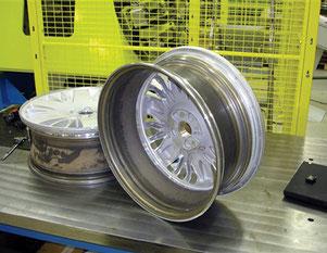 Rührreibgeschweißtes Aluminium-Rad für den Volvo XC 90