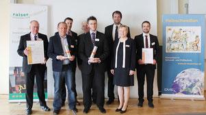 Der 'raiser Innovationspreis für Reibschweißen' ging 2017 an ein Projekt-Team des TWI in Kooperation mit der ESA und der Airbus Defence and Space Ltd