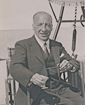 Arthur Percy Strohmenger, einer der Erfinder der umhüllten Elektroden zum Lichtbogenhandschweißen