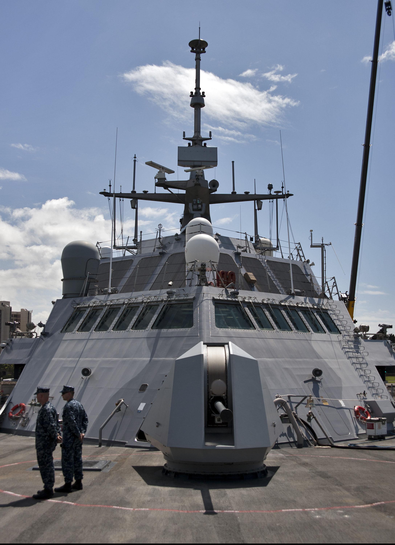 Rührreibgeschweißtes Deckshaus der 'USS Freedom'