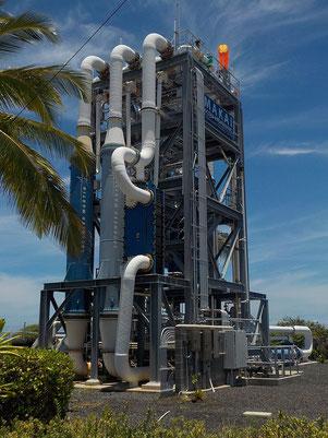 Lockheed Martins rührreibgeschweißte Wärmetauscher in Makai's OTCE in Hawai