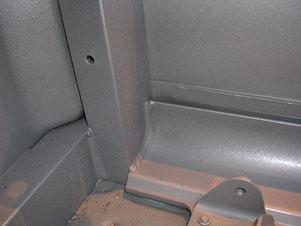 Rührreibgeschweißter Mitteltunnel des Ford GT