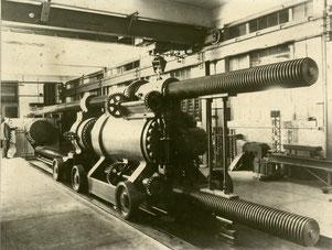 Die Emery-Prüfmaschine am NIST