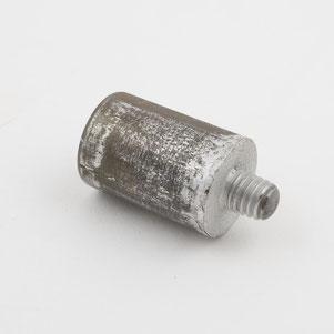 Eines der ersten Rührreibschweißwerkzeuge des TWI von 1991 im  Londoner Science Museum