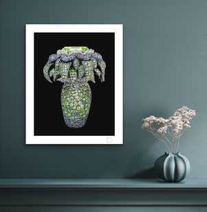 Ring jewels painting print