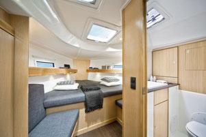 Kabine Segelurlaub mit Yacht-Urlaub