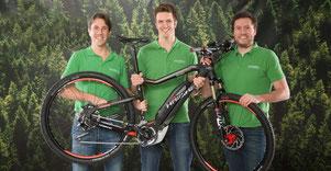 Ihre Schweizer Experten in Sachen e-Bikes und Elektrovelos