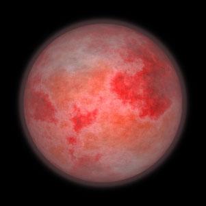 A l'ouverture du sixième sceau, le soleil devient noir comme un sac de crin et la lune entière devient comme du sang. L'astre qui nous éclaire pendant la nuit en nous envoyant une douce lumière rassurante devient comme du sang, symbole de terreur.