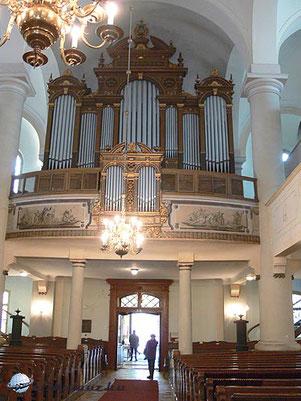 Evangelische Kirche Sopron/Ödenburg - erbaut von E.F.Walcker - 1884