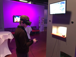 Virtual Reality im LEAVR Leipzig - immerwiederleipzig