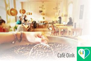 Einblick in Café Oink in Leipzig