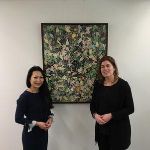 with Ms Miriam van Meerten at Gemeentehuis Gooise Meeren