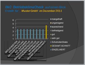 der BetriebsklimaCheck liefert die Fakten, die für eine Verbesserung wichtig sind.
