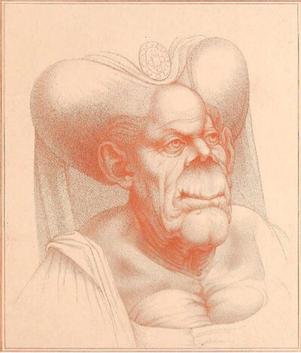 Oude karikatuur