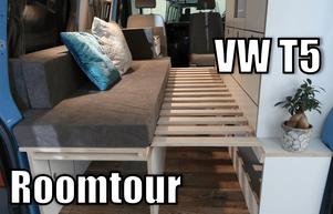 VW T5 Camperausbauvideo