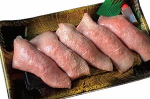 仙台牛ローストビーフ寿司(5貫)