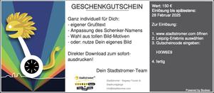 Geschenkgutschein Segway in Leipzig zum selbstdrucken
