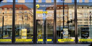 """Im Center """"Höfe am Brühl"""": Das Stadtstromer-Geschäft für Segway-Touren und Stadtrundgänge in Leipzig"""