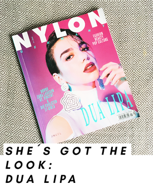 Dua Lipa auf dem Cover des Nylon Magazins