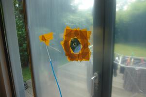Einfamilienhaus Köln A-Wert-Messung Fenster