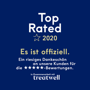 """PRADCO Friseur ist """"Top Rated"""" bei Treatwell"""
