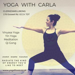 vinyasa yin yoga meditation qi gong  islington camden london