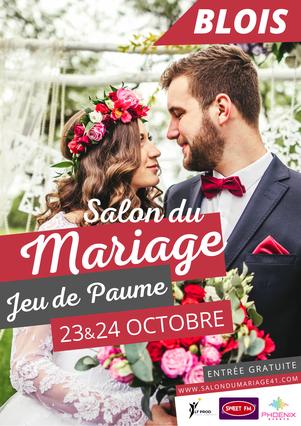 Salon du Mariage et de l'événement à Blois 23 & 24 Octobre 2021