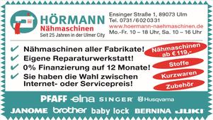 Hörmann Nähmaschinen Logo