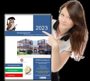 Unser Kursprogramm 2020 Pfeffer Consulting