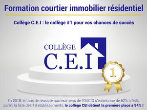 Taux de réussite exceptionnel du collège CEI